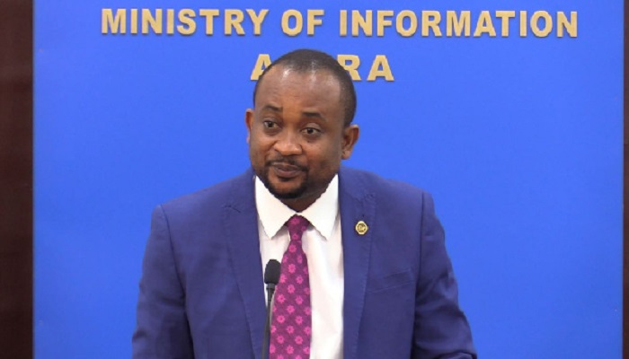 Deputy Information Minister, Pius Enam Hadzide