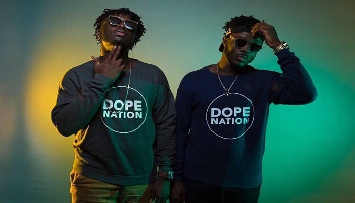 Dopenation is made up of twin brothers, Micheal Boafo (B2) and Tony Boafo (Twist)