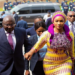 Samira Bawumia and Husband at SONA 2020