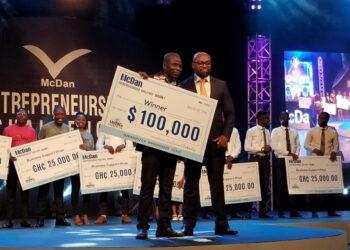 Winner of Macdan entrepreneurship challenge