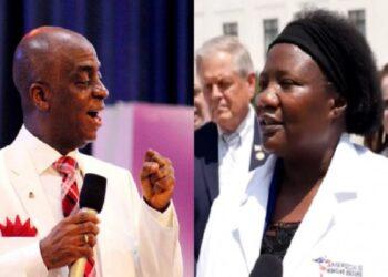 Bishop Oyedepo and Stella Immanuel