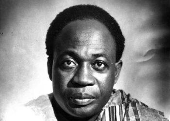 Ghana's first president, Kwame Nkrumah.