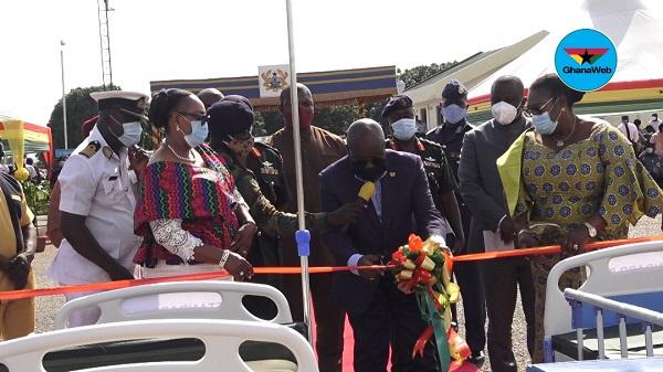 President Nana Addo Dankwa Akufo-Addo at the ceremony
