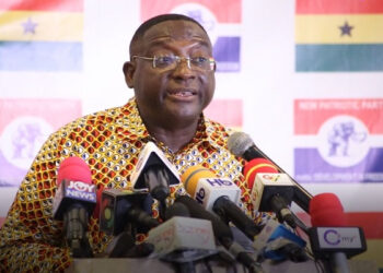 Yaw Buaben Asamoah, Communications Director for the governing New Patriotic Party (NPP)