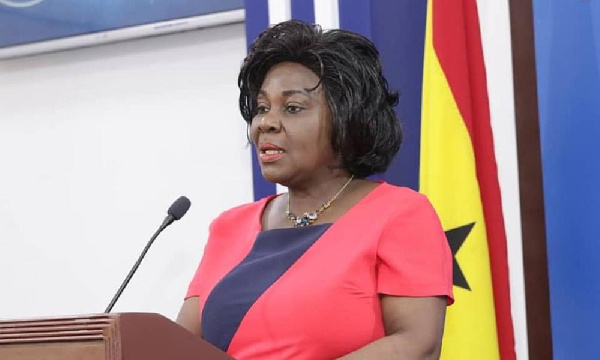 Cecilia Abena Dapaah has been re-nominated to the Sanitation ministry