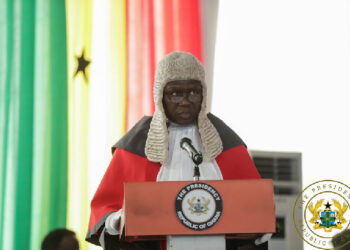 Chief Justice His Lordship Anin Yeboah