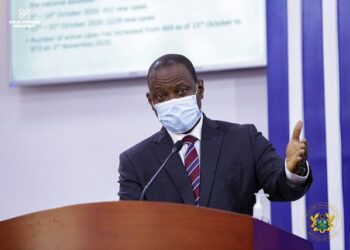 Director-General of the Ghana Health Service, Dr Patrick Kuma-Aboagye