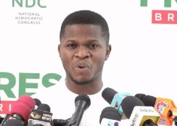 Sammy Gyamfi, Communications Officer, NDC