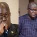 President Nana Addo Dankwa Akufo-Addo and Nii Lante Bannerman