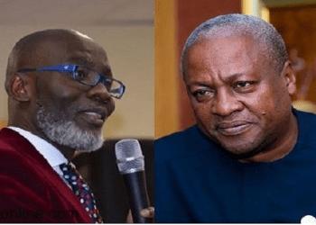Gabby Otchere Darko and Former President, John Dramani Mahama