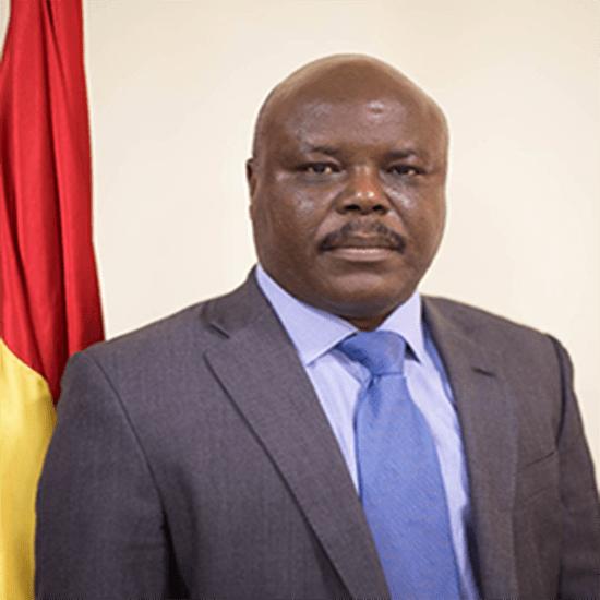 Minister Designate for Public Enterprise, Joseph Cudjoe