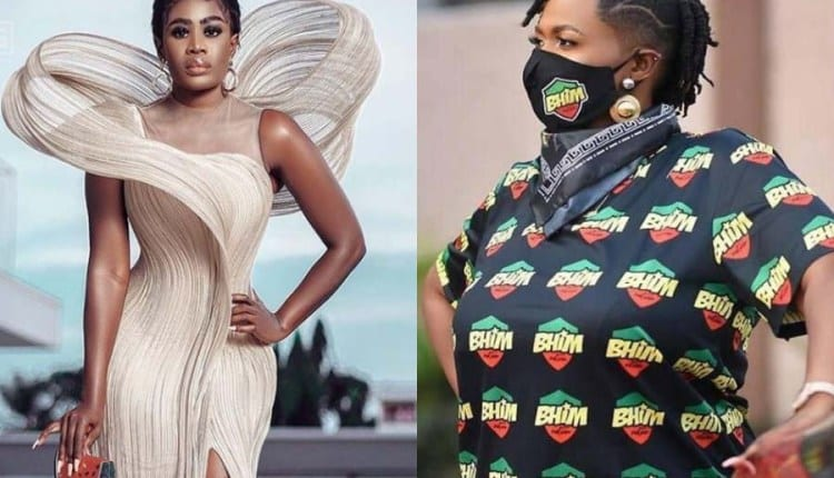 """She_Loves_Stonebwoyb See Your Face, You See 15k Before ??? ""- Nanaa Akua Addo"