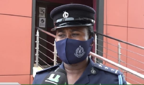 Accra Regional Police Command Public Relations Officer, DSP Afia Tenge