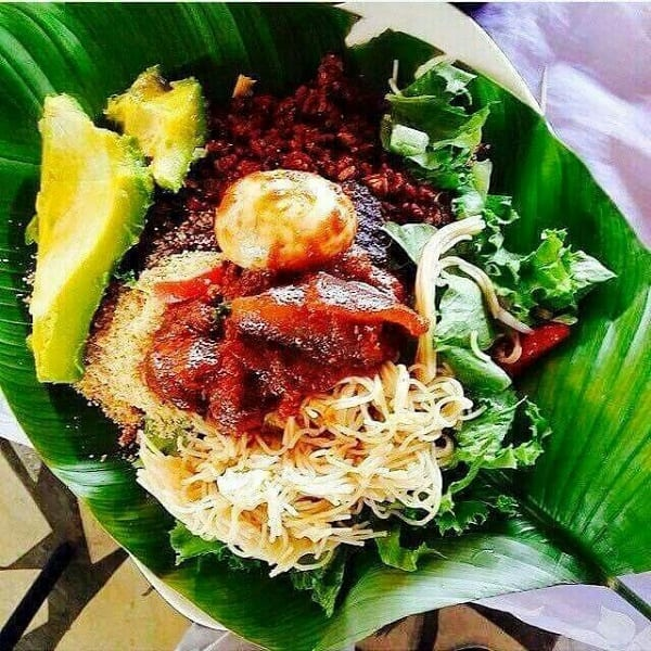 Waakye is a delicacy in Ghana