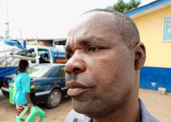 Rev Turkson managed to escape with a swollen face and bruises on his body