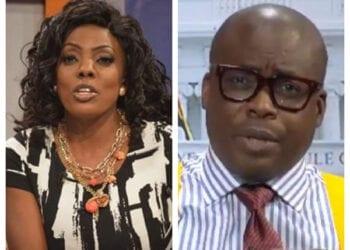 TV hosts Nana Aba Anamoah and Paul Adom-Otchere