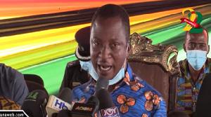 Member of Parliament for Amasaman constituency, Akwasi Afrifa-Mensa
