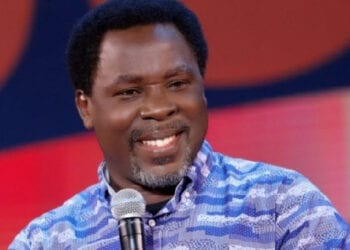 Late TB Joshua, Founder of the Synagogue Church of All Nations