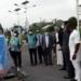 Health Minister Kwaku Agyemang Manu receiving the first batch of 16,000 Sputnik vaccines
