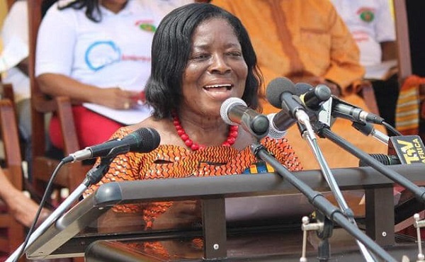 The late Ama Benyiwa Doe, former Central Regional Minister