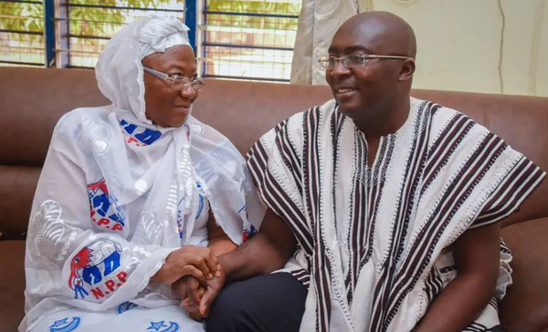 Vice President Bawumia's mother has died at the age of 81